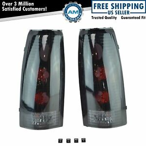 Performance Smoked Lens Altezza Style Taillight Lamp Pair For Ck Truck Yukon New