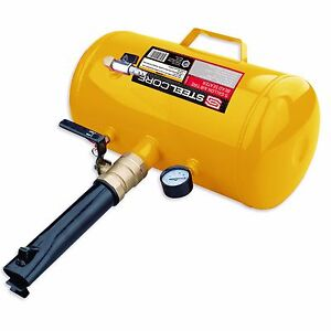 Steel Core 5 Gallon Air Tire Bead Seater Blaster Tool Seating Inflator