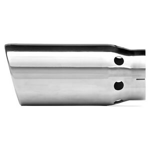 Dynomax Performance Exhaust 36483 Exhaust Tip Single Wall Slant Cut Dpf Cooling