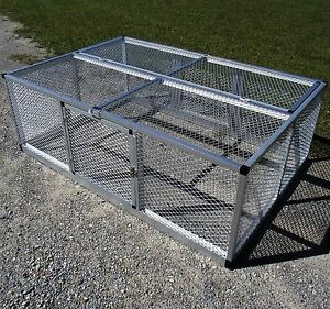 48x72 Rite Farm Products Lifetime Series Freestanding Chicken Run Coop Poultry