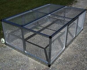 Small Rite Farm Products Lifetime Series Mobile Chicken Run Coop Poultry Tractor