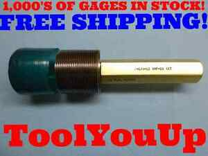2 1 4 12 Unf 2a Set Thread Plug Gage Go Only 2 250 P d 2 1941 Inspection Tool