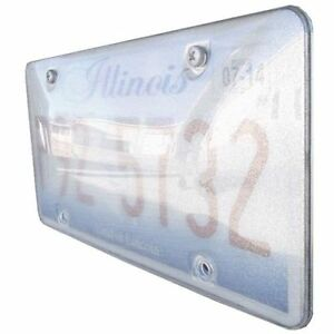 Race Sport Rs pb plate 1 Reflector License Plate Cover