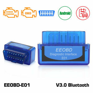 Bluetooth V3 0 Elm327 Obd2 For Android Torque Code Reader Scanner Car Diagnostic