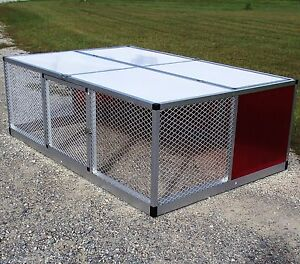 48x72 Rite Farm Products Lifetime Series Broiler Pen Chicken Run Coop Poultry