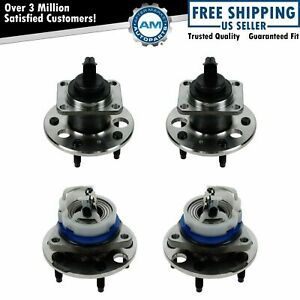 Wheel Bearing Hub Front Rear Set Of 4 For Buick Cadillac Olds Pontiac