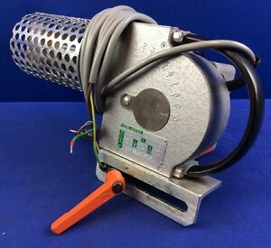 Karl Leister Hotwind Hot Air Blower W 3 w Knife Nozzle Mounting Bracket