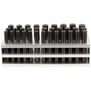 33 Pc Transfer Punch Set 1 2 1 X 64ths With Stand 4 7 8 Long Spotters