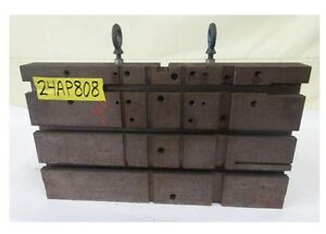 24 X 14 X 12 Slotted Angle Plate Workholding Fixture