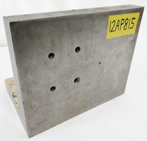 12 X 10 X 8 Plain Angle Plate Workholding Fixture