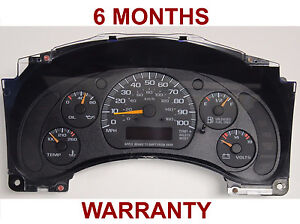 2001 Chevrolet Express 1500 2500 3500 Truck 15769924 Instrument Cluster