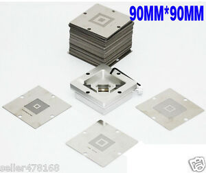 1pc Bga Chips Repairs Kit 90x90mm Reballing Station Jig Bga Jig 230pcs Stencil