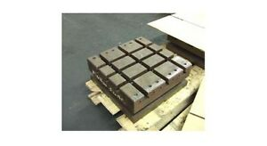 16 X 16 Sub Table Workholding Fixture W T slots