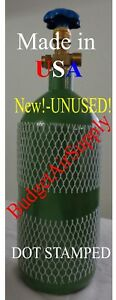20 Cu Ft made Usa Oxygen Tank Cylinder Cga540 Valve Hvac Welding ships Empty