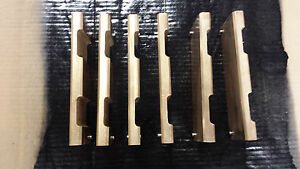 Set Of Bronze Vanes For A 6 Blackmer Hxls6f n Pump
