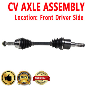 Front Driver Side Front Left Cv Axle Drive Shaft Assembly For Mercury