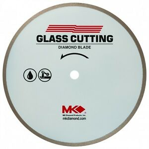 Mk 215gl 156651 7 X 060 X 5 8 Inch Supreme Wet Cutting Diamond Blade For Glass