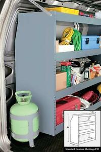 Contour Shelving For Van Storage And Organization American Van 18 D X 39 W