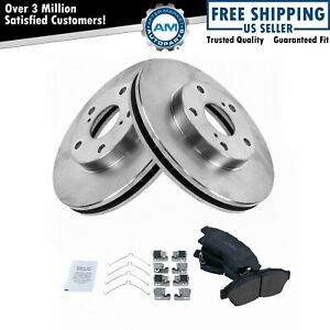 Nakamoto Front Posi Ceramic Brake Pad Rotor Kit Set For 92 01 Camry 2 2l