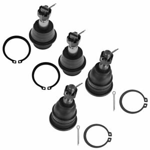 Ball Joint Upper Lower Lh Rh Set Of 4 For 06 08 Ram 1500 2wd Pickup Truck New