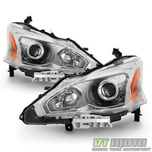 For 2013 2014 2015 Altima Sedan Projector Headlights Headlamps 13 15 Left right
