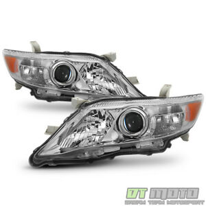 Replacement Us Built Model 2010 2011 Toyota Camry Projector Headlights Headlamps