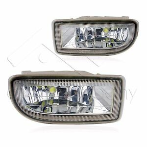 98 07 Toyota Land Cruiser Fog Lights W wiring Kit High Power Cob Led Bulbs