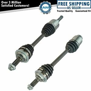 Front Cv Axle Shaft Assembly Kit Pair For Fusion Milan Mkz 2 5l New