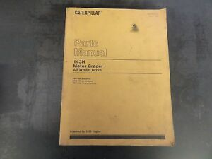 Caterpillar Cat 143h Motor Grader Parts Manual 1al Sebp2275 01