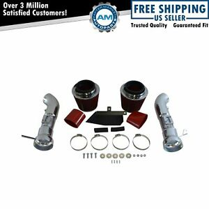 Performance Cold Air Intake Cai W Red Air Filter For Infiniti G37 Nissan 370z
