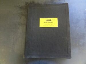 Rosco Deluxe Rollpac Iii Asphalt Roller Operation Maintenance Parts Manual