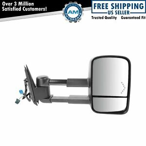 Side View Mirror Power Heated Towing Signal Passenger Right For Chevy Gmc