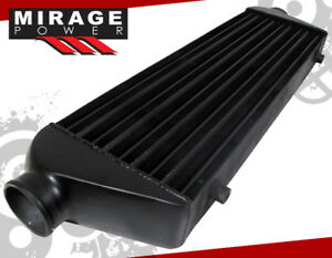 28 X 7 X 2 5 Fmic Black Front Mount Turbo supercharger Intercooler Honda
