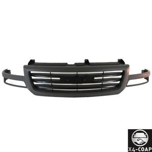 Dark Gray Grille Paint To Match For 03 07 Gmc Sierra 1500 Hd 2500 Pickup Truck