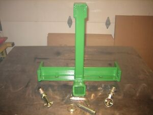 3 Point Pt Trailer Hitch John Deere 2210 2320 2720 1023e 1026r Sub Compacts