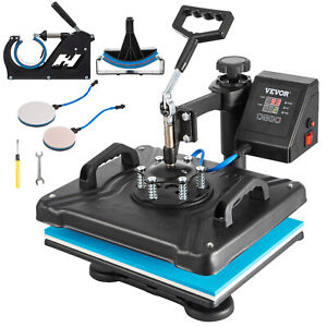 5 In 1 Combo Heat Press Transfer Sublimation T shirt jigsaw Puzzle plate 15 x12