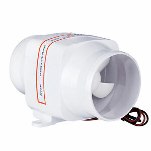 Seaflo 4 Boat In Line Bilge Blower Fan 12v Marine Cabin Engine Ventilation