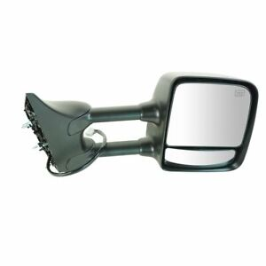 Side Mirror Power Heated Memory Chrome Towing Passenger Right For 04 15