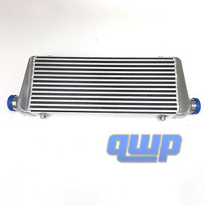 For Supra Eclipse 240sx Civic Racing Intercooler 28 x9 x2 5 2 Inlet Outlet