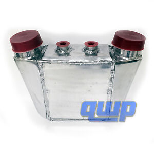 Universal Aluminum 16 X12 7 X4 5 Water To Air Intercooler 4 5 Core 3 5 I O