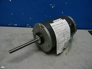 Us Motors 2202 Single Phase Permanent Split Capacitor Hvac Motor 1 2 X 5 Shaft