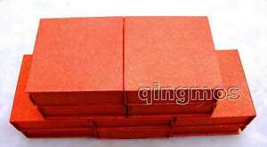 Wholesale 10x Square Big 9 2 9 2 3cm Multi Purpose Red Jewelry Displays Box bo25