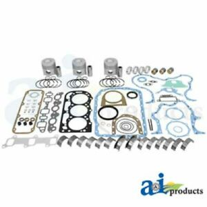 A ok194 Ford Tractor Major Overhaul Kit 4000 4600 4610 4610su 4630