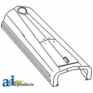 A 8n16612 Made To Fit Ford Tractor Hood 8n 9n