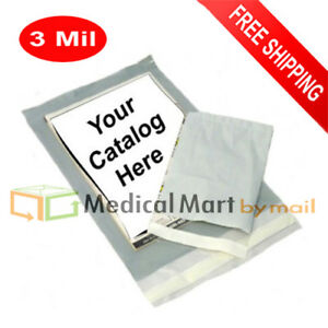 5000 Clear View Poly Mailers 3 Mil Shipping Mailing 12 x15 Self Seal Envelopes