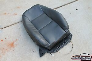 2001 Saab 9 3 Turbo Sedan Right Front Seat Leather Cushion Cover Gray Oem 93 01