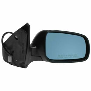 Power Heated Side View Mirror W Blue Tint Passenger Right Rh For Jetta Gti Golf