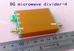 1g 8g 8ghz 4 Microwave Frequency Divider For Measurement Test signal Source