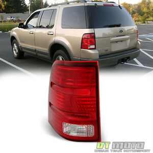2002 2005 Ford Explorer 4dr Replacement Tail Lights Brake Lamps Driver Left Side