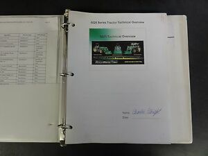 John Deere 5025 Series Tractor Technical Overview Manual